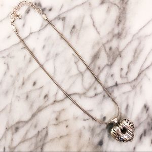 Brighton Necklace with Heart Pendant